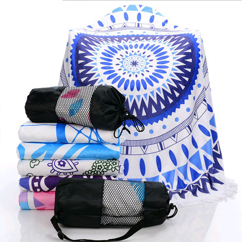 New arrival Fashion sports Can shoulder back beach Towel blanket - Home Textile
