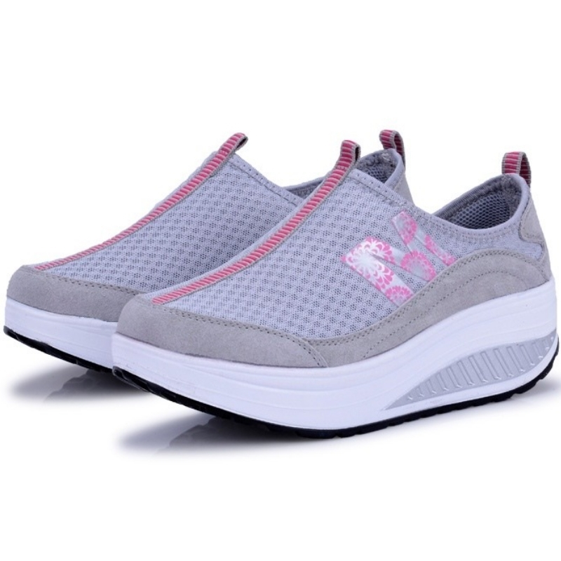 Mesh summer women loafers shoes women summer flats for female leisure outdoor shoes A656