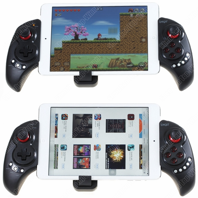 Orignal iPEGA Telescopic Wireless Bluetooth Game Gaming Controller Gamepad Joystick for Phone/Pod/Pad/Android IOS Tablet PC