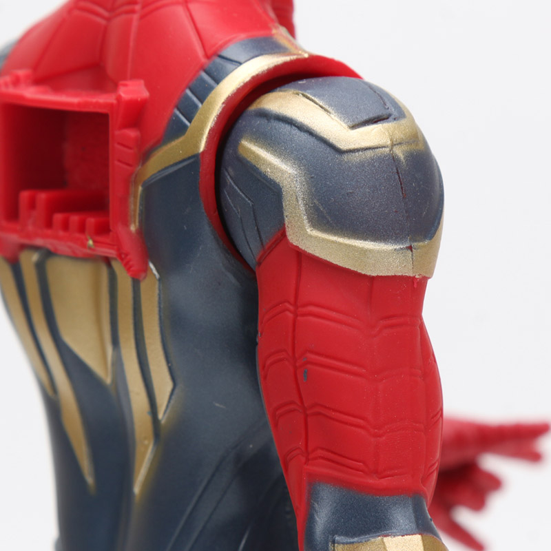 30cm Iron Spider Pvc Action Figure Titan Hero Series Marvel Toys The Avengers Figures Ironman Super Hero Collection Model Dolls #5