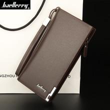 Business Men's Leather Solid Long Wallet (4 colors)