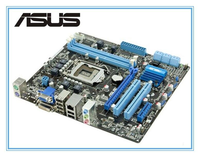 100% original ASUS motherboard P7H55-M PLUS LGA 1156 DDR3 8GB support I3 I5 I7 H55 Desktop motherboard uATX mainboard
