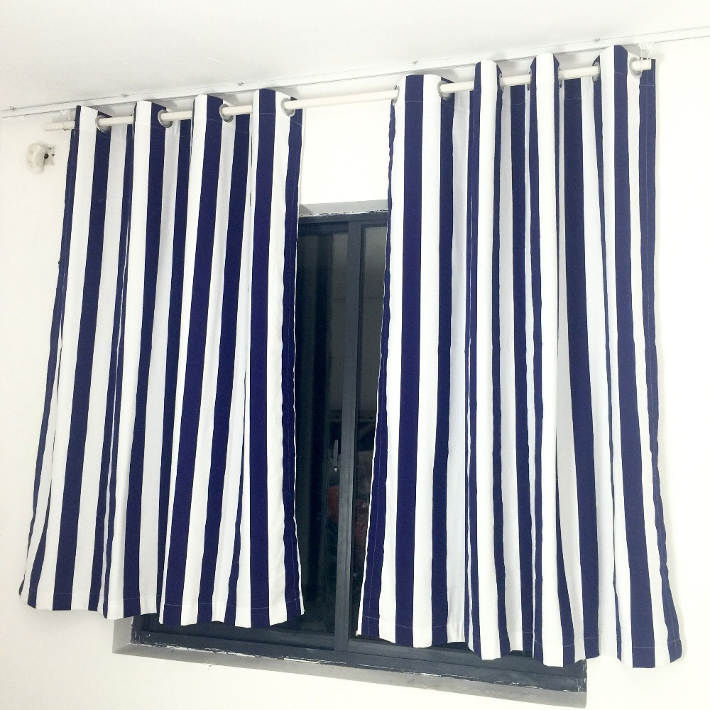 ... Crate And Barrel With Grey Wall Feat Curtain Panels Navy Stripe Shower