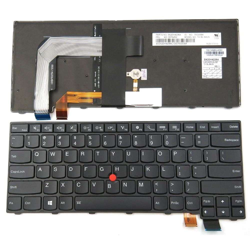 00PA534 backlit Keyboard NEW Lenovo Thinkpad T460s 00PA452