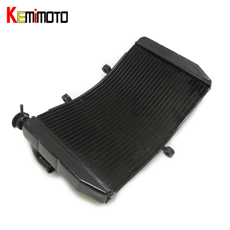 KEMiMOTO Motorcycle Accessories Radiator Cooler For HONDA CBR600F4I CBR 600 F4I CBR600 2001 2002 2003 2004 2005-2007
