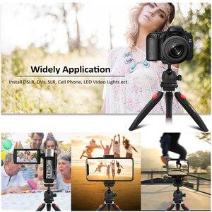 Image 3 - Andoer Mini Tabletop Stativ Telefon Kamera Stativ für Canon Nikon Sony DSLR für Huawei Smartphone für GoPro