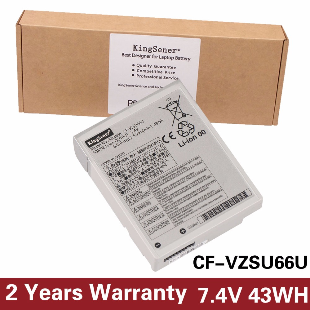 KingSener Japanese Cell New CF-VZSU66U Laptop Battery for Panasonic Toughbook CF-C1 CF-VZSU66 CF-VZSU66U CF-VZSU66R 7.4V 6.0Ah villarreal cf rcd espanyol