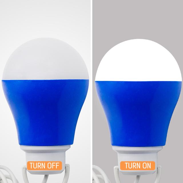 USB Bulb light Colorful PVC Environmental lamp 5V 5W Portable LED bulbs USB lamps For Hiking Camping Travel Outdoor lighting