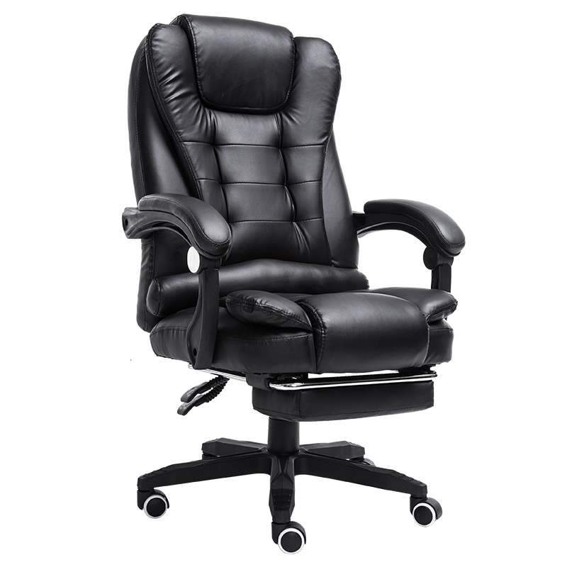 PI#3033 Massage computer home office can lie with foot lifting ergonomic seat chair at the boss 240320 home office can lie down high density inflatable sponge 360 degrees can be rotated computer chair boss massage chair
