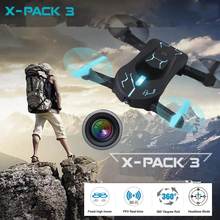 WIFI Real Time Transmission Phone control WiFi FPV RC Drone Helicopter with 480P 720P HD Camera foldable aircraft toy kid gifts