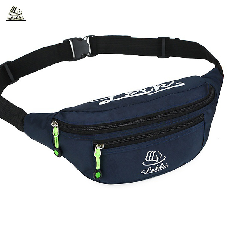 Waist Bag Waist Pack Fashion Women Men Belt Bag High Capacity Waist Pack for Phones Nylon Belly Bag Casual Waist Pouch waist bag