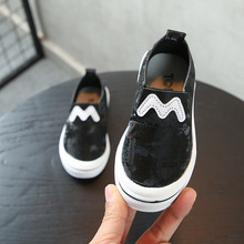 Flock Leather Kids Casual Shoes Slip On Sneakers Toddler Girl Shoes Fashion 2019 Baby Boys Loafers Kids Flats Shoes For Children 2018 baby girl boy shoes casual baby first walker shoes children shoes boys sneakers sport toddler boy loafers leather sneakers