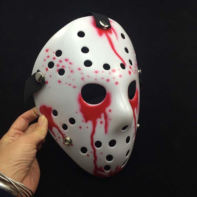2017 neue Lustige Halloween Maskerade Verdickung Jason Maske Terror ...