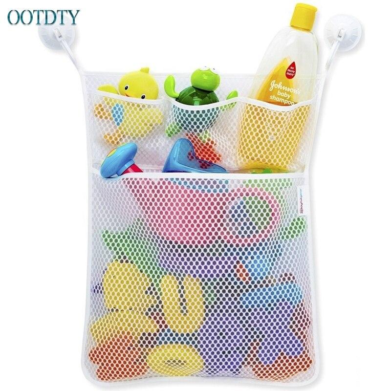 1 шт. Детские Ванная комната Ванна игрушка сеточку сумка Организатор держатель вещи аккуратные #330 ...