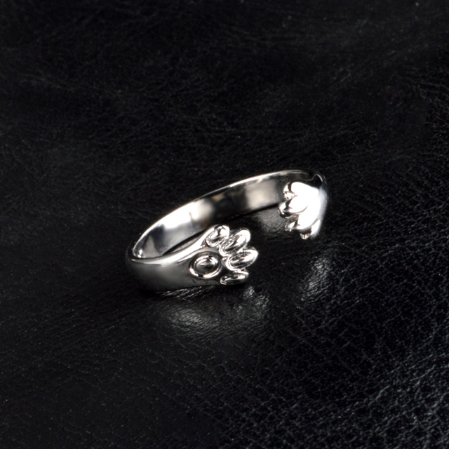 Pretty Cat Claws Design Rings For Girlfriend