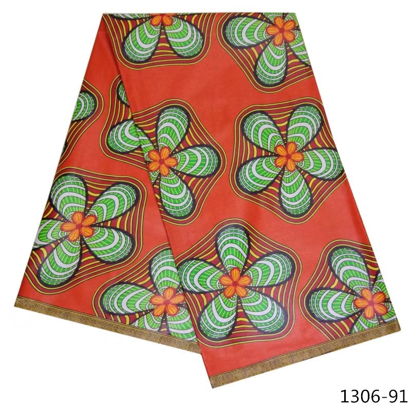New arrival african wax fabric Nigeria Java wax fabric100 cotton high quality african wax 6 yards pcs for women dress 1306 9 in Fabric from Home Garden