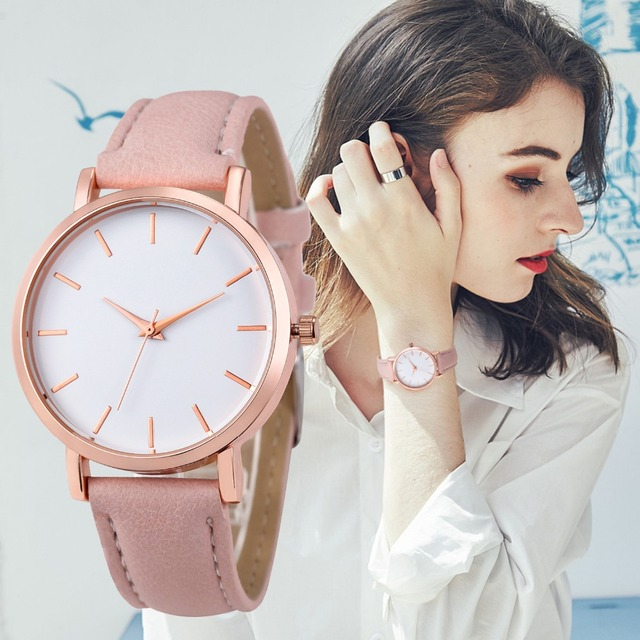 FUNIQUE Fashion Montre Femme Reloj Mujer Leather Stainless Men's Watch Wholesale