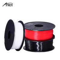 Anet ABS PLA 0.5KG 3D Printer Filament 1.75mm Plastic Rubber Consumable ABS Filaments For Makerport RepRap i3 DIY Printing