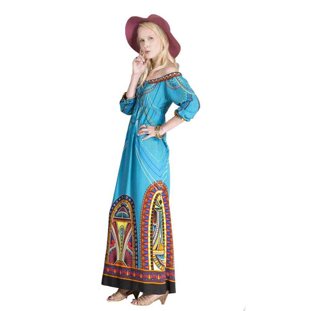 Cotton maxi dress nzxt