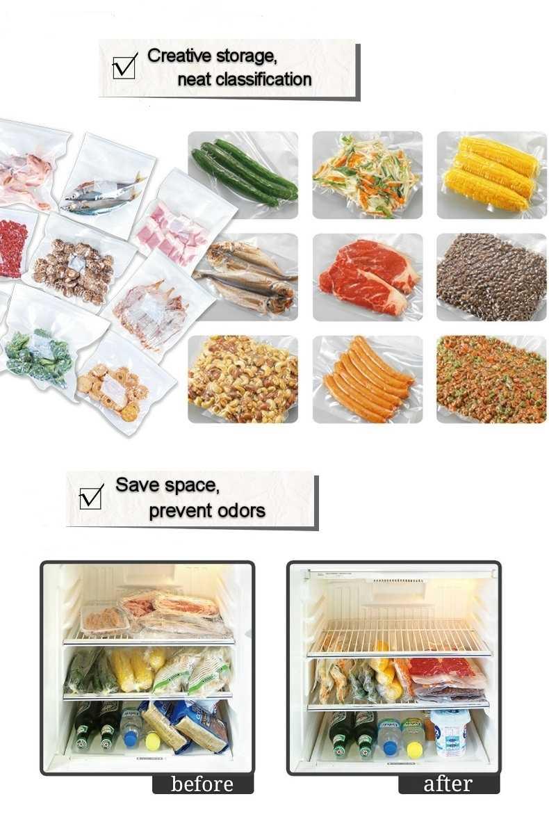Vacuüm verpakking voedsel afdichting pack sealer pakket tas packer seal vacuo huishoudelijke apparaten Vacuüm zakken 3 roll 15meter