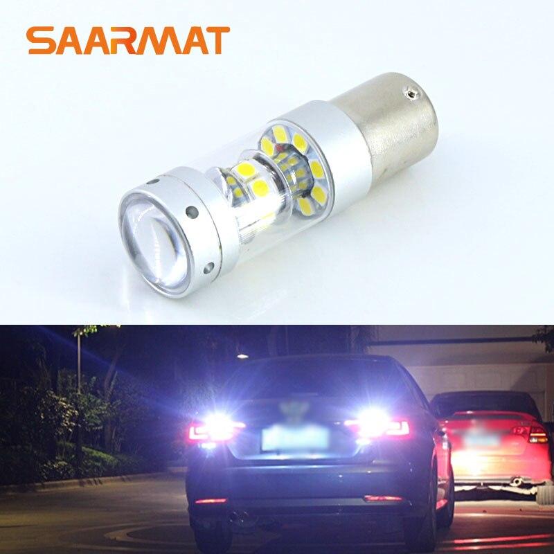 1 X ошибок Canbus 6000 К белый 140 Вт 1400lm высокое Мощность светодиодный Обратный Резервное копирование свет проекта лампочку для Skoda Octavia ...