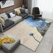 400cm*300cm Nordic Style Memory Foam Geometric Mat Area rug Bedroom Rugs Carpet Doormat for Hallway Living Room Kitchen Floor Ma