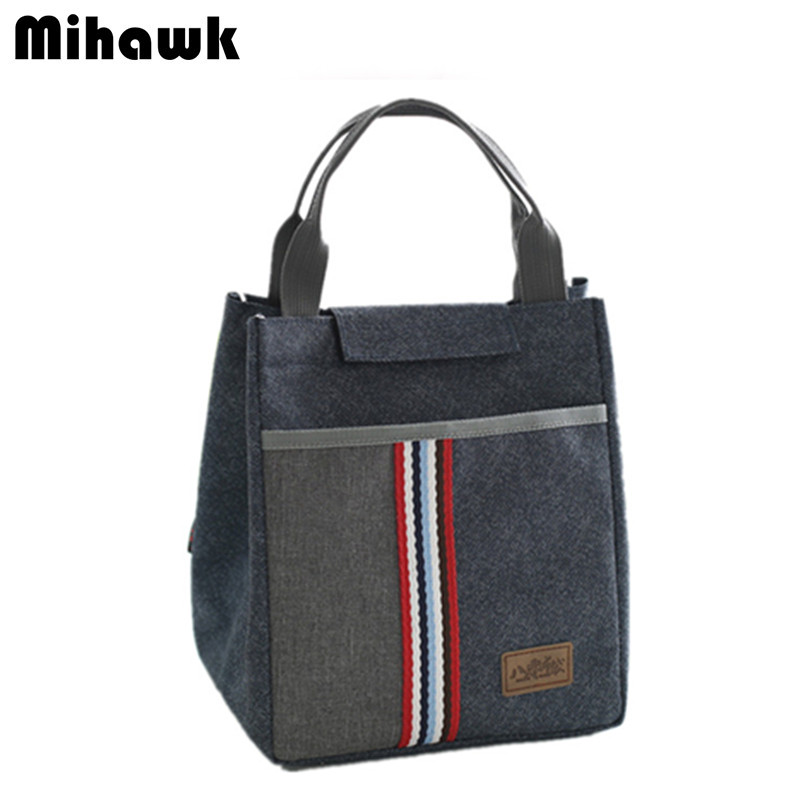 Thermal Insulated Lunch Bag Tote For Women Kid's Portable School Cooler Thermo Bag Leisure Accessories Supplies Products