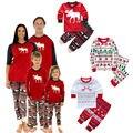 Christmas deer toddler children cltothing xma Kids Baby Boys Girls Pajamas Set Deer Sleepwear Nightwear Outfits 1-7T homewear