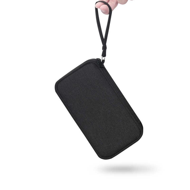 BUBM กระเป๋าสำหรับ Power Bank กระเป๋าใส่สายกระเป๋าแบบพกพาสำหรับภายนอกแบตเตอรี่ขนาดกะทัดรัดชาร์จ