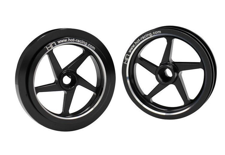 Hot Racing Kyosho 1 8 Motorcycle Aluminum 5 spoke Wheels HOR51501