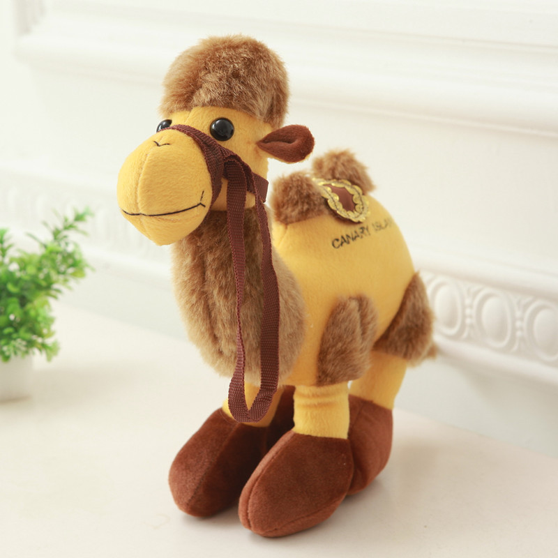 2 HUMP *NEW* BACTRIAN CAMEL SOFT STUFFED ANIMAL PLUSH TOY 25CM