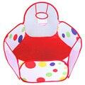 New 0.9m Children Kid Ocean Ball Playing Pool Pit Pool Game Play Tent W/ Ball Hoop K5BO