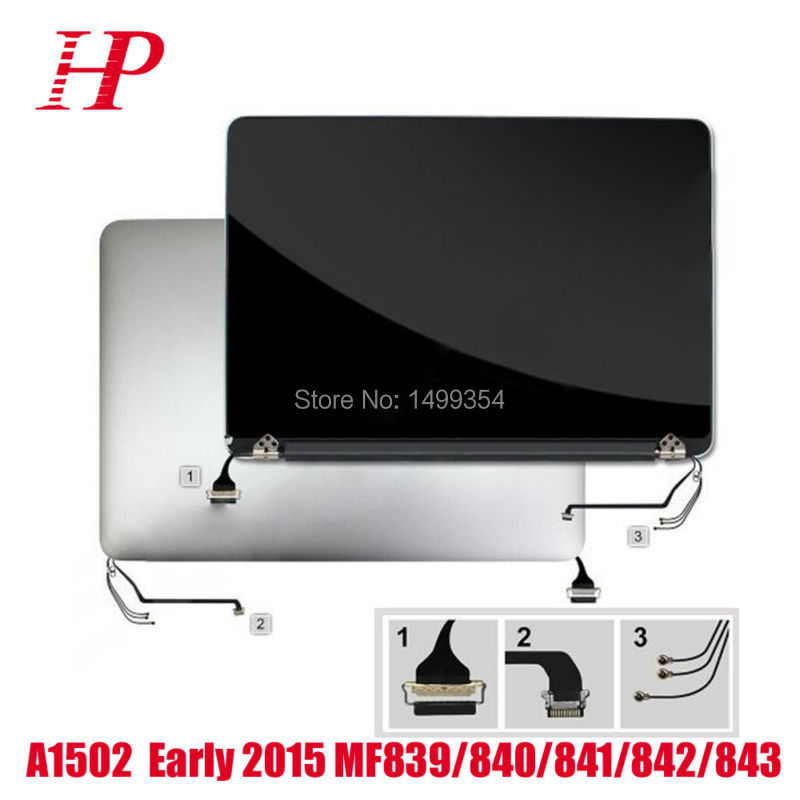 95% New Genuine Early 2015 Year EMC2835 13'' Retina A1502 LCD LED Screen For Macbook Pro A1502 LCD Screen Assembly 2560x1600