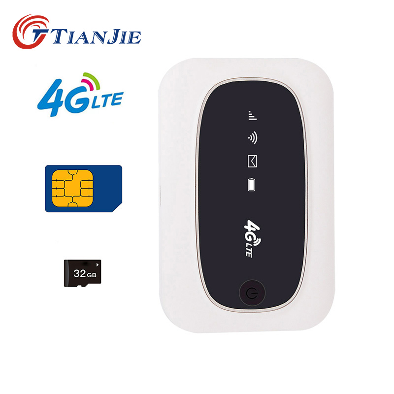 TIANJIE M6 M7 universal 3G 4G WCDMA GSM modem Mini mobile Hot spot portable 150 Mbps