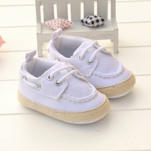 2017 New Arrival Wholesale Baby Girl Boy Kids Toddler Shoes Fashion Baby Brand Sport Shoes Solid Lace-Up Shallow BEBE Moccasins