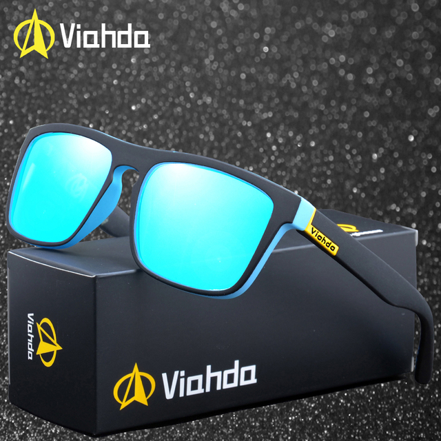ea9d3d6acd Viahda 2019 New Brand Squared Polarized Sunglasses Men Top Quality Male Sun Glasses  Driving Fashion Travel