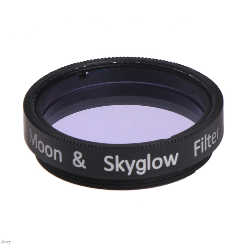 1.25 Inch Moon And Skyglow Filter For Astromomic Telescope Eyepiece Ocular Metal Frame Optical Glass