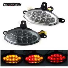 Motorcycle accessories Smoke Integrated LED Tail Light Turn signals Blinker For KTM 200 390 DUKE Smoke motorcycle led flush mount turn signals blinker light