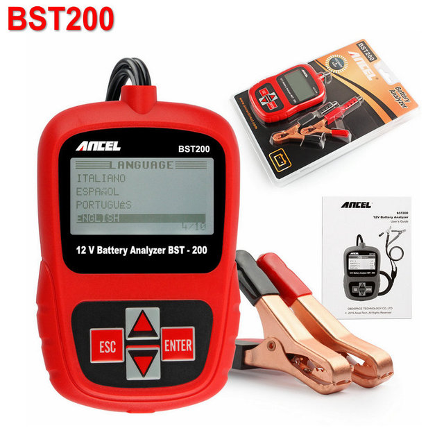 2017 New Vehicle Car battery tester 12V Auto battery analyzer Digital Automotive Directly Detect Bad Car Cell Battery CCA