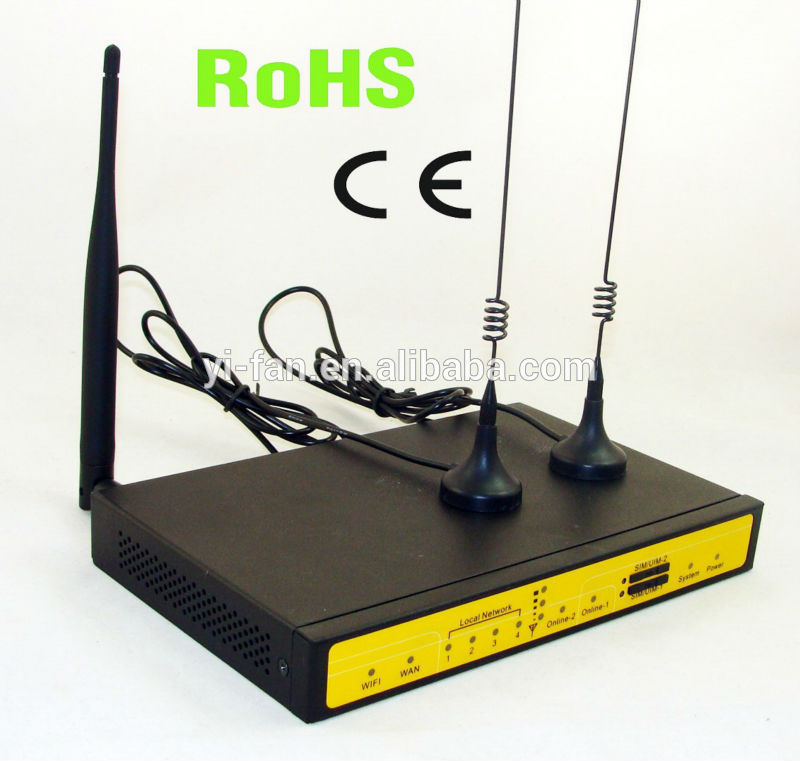 Free Shipping by courier support load balancer F3B32 3G HSPA HSPA dual sim router for ATM, Kiosk стоимость