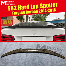 все цены на For BMW F82 M4 2 door Coupe Hard Top High kich Forging Carbon Fiber Trunk spoiler wing M4 style 4 series 420i 430i wings 2014-18 онлайн