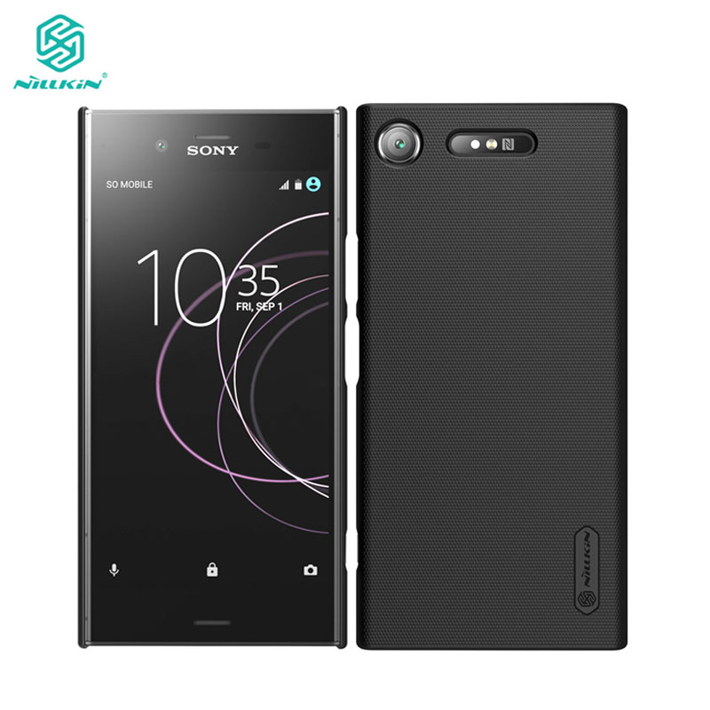 sFor Sony XZ1 Case for Sony Xperia XZ1 Cover Nillkin Frosted Shield PC Hard Back  Cover Case(China)