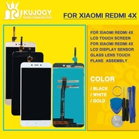 For Redmi 4X LCD Touch Screen For Xiaomi Redmi 4X LCD Display Sensor Glass Lens Touch
