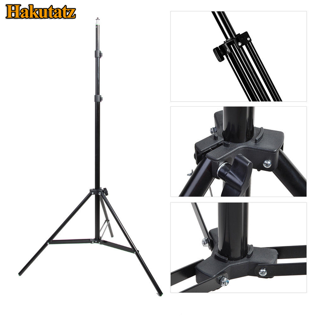Photo 2M 79'' Light Stand Tripod With 1/4 Screw Head for Photo Studio Video Softbox Flash Umbrellas Reflector Lighting