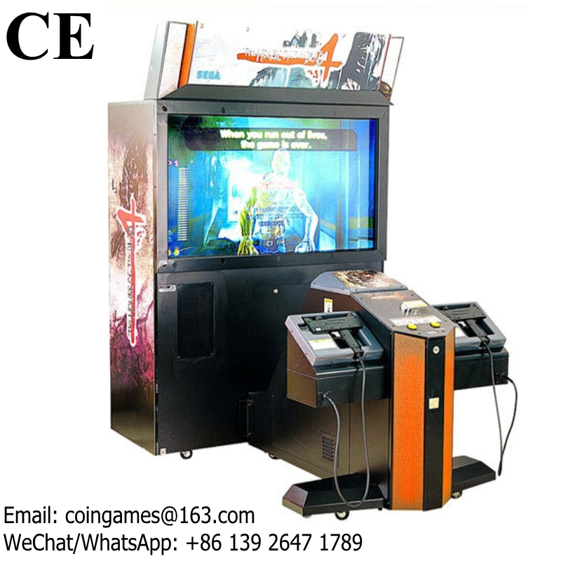 2 Players The House Of The Dead 4 Gun Shooting Coin Operated Simulator Arcade Game Machine