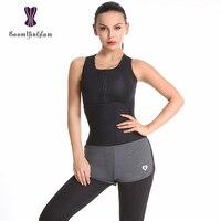 609# Neoprene Sauna Vest Body Shaper Slimming Waist Trainer Hot Shaper Fashion Workout Shapewear Adjustable Sweat Belt Corset