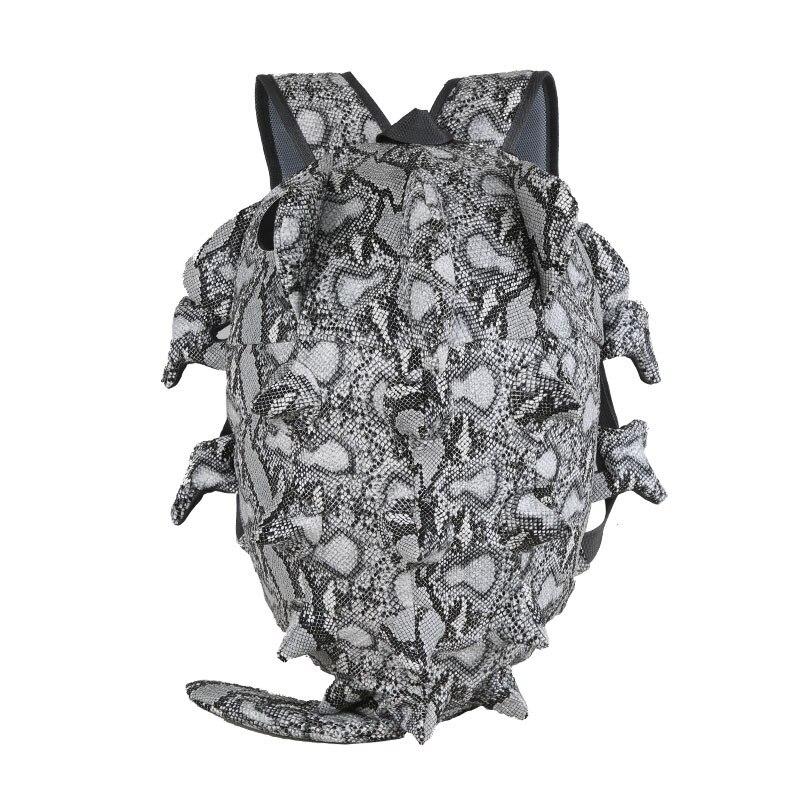 3D Chameleon Backpack Men Male Monsters Backpack Harajuku Lizard Travel Bag Cartoon Rucksack Women Shoulder School Bags Satchel monsters of folk monsters of folk monsters of folk