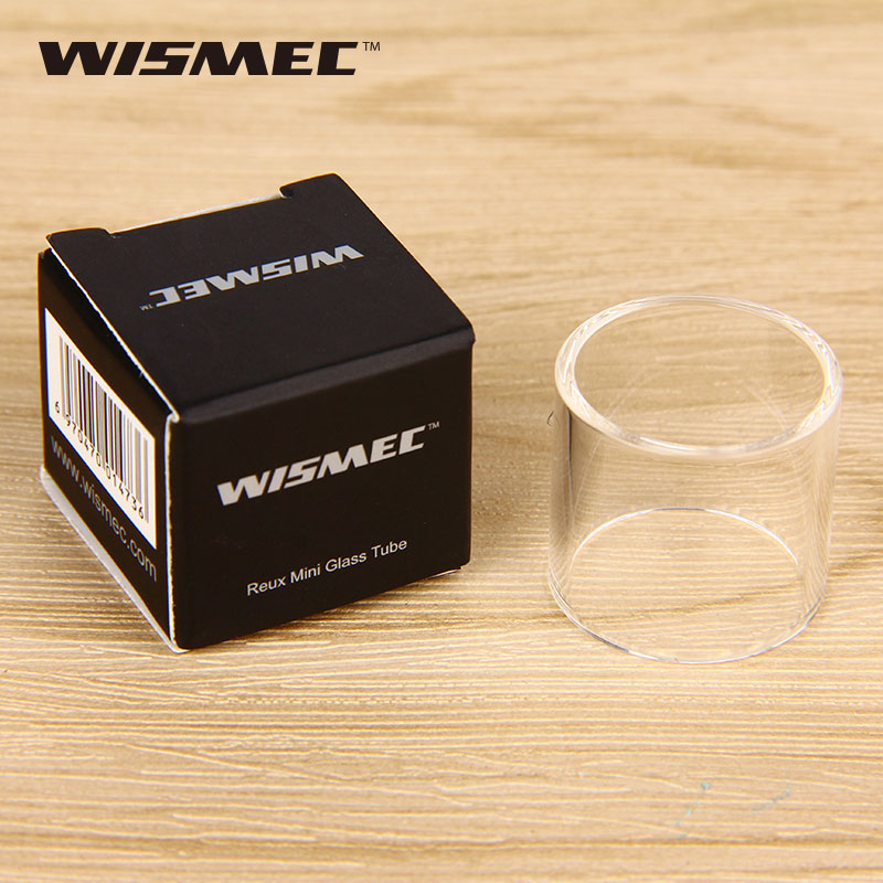 Original WISMEC Reux Mini Tank Tube Pure Pyrex Glass Tube Replacement Glass Tube for Reu ...