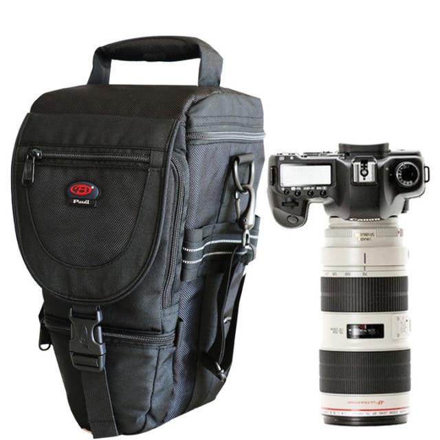 デジタル一眼レフカメラバッグハンドバッグ望遠レンズポーチケース防水多機能キヤノンニコンソニー 70 200 ミリメートル 2.8 、 80 400 100 400 ミリメートル
