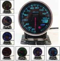 LED Colorful Universal Tachometer 2 5 60mm Defi BF Oil Pressure Gauge Auto Gauge Meter Car